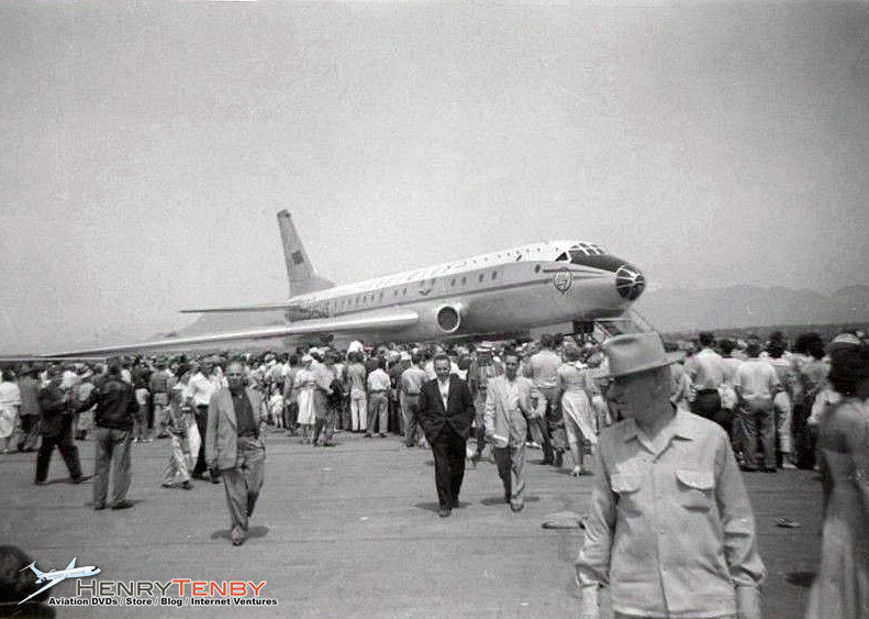 On Sunday June 15, 1958, an Aeroflot TU-104 jetliner CCCP-175445 participated in an airshow held at Vancouver airport in celebrations supporting the 100th anniversary of the Canadian Province.