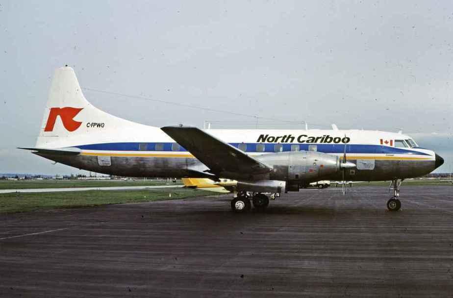 SP4613 North Cariboo CV640 C-FPWO YVR April1985