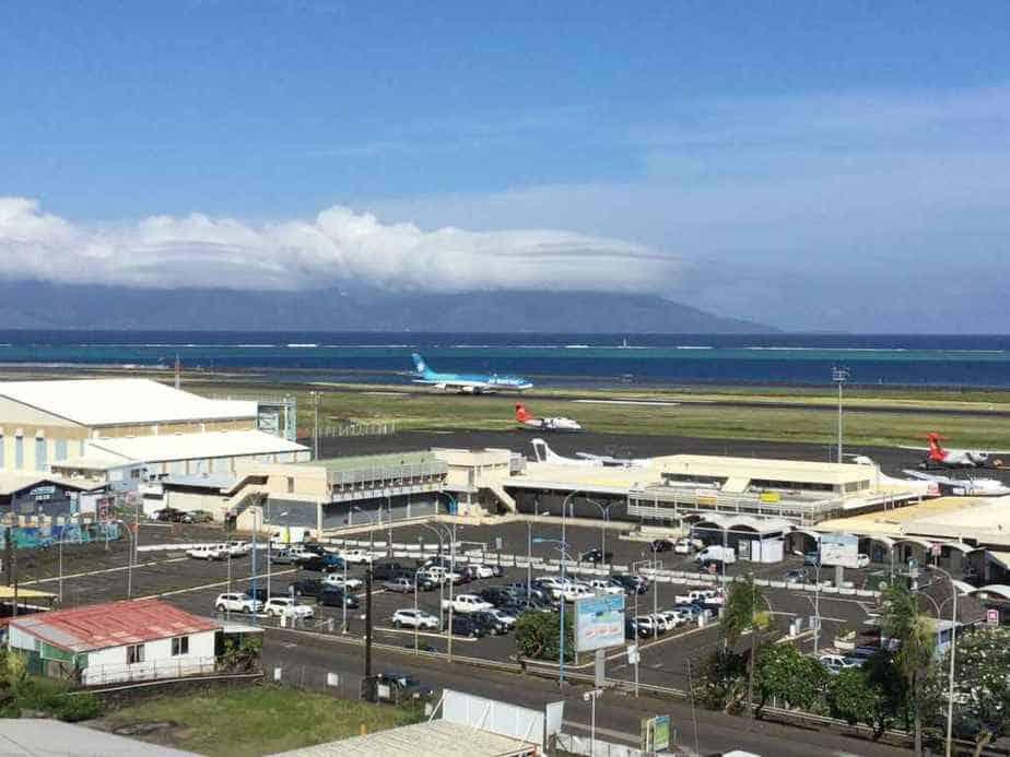 Tahiti's Faaa International airport