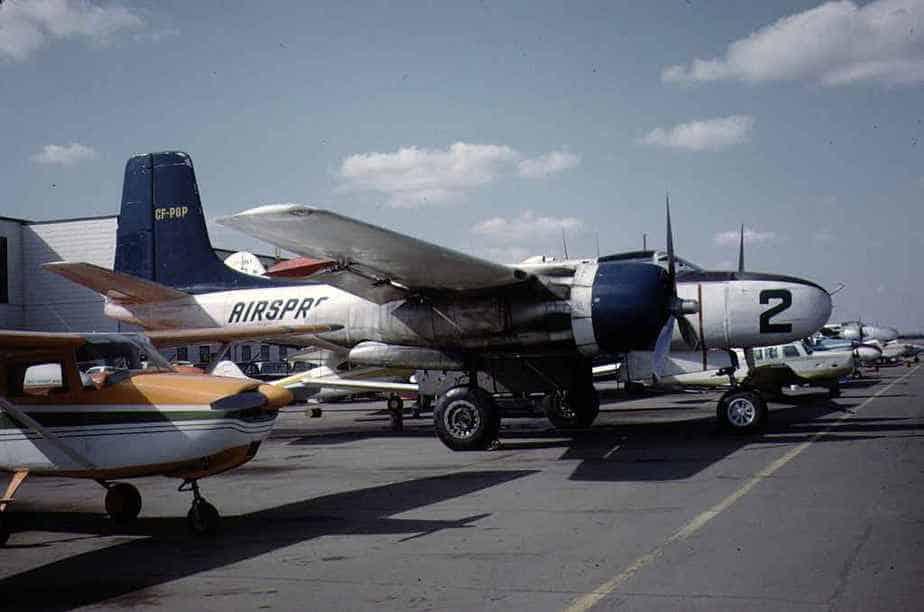 AirSpray B-26 CF-PGP May1973