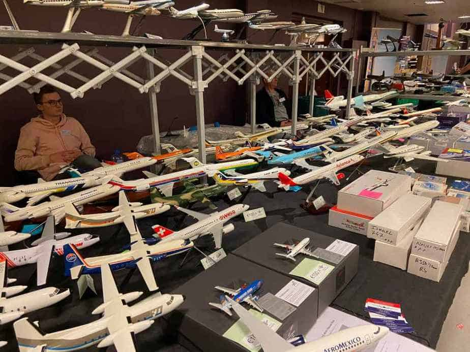 Ed Van Rooijen's fabulous selection of vintage F28, F28 and F100 1/72 display models
