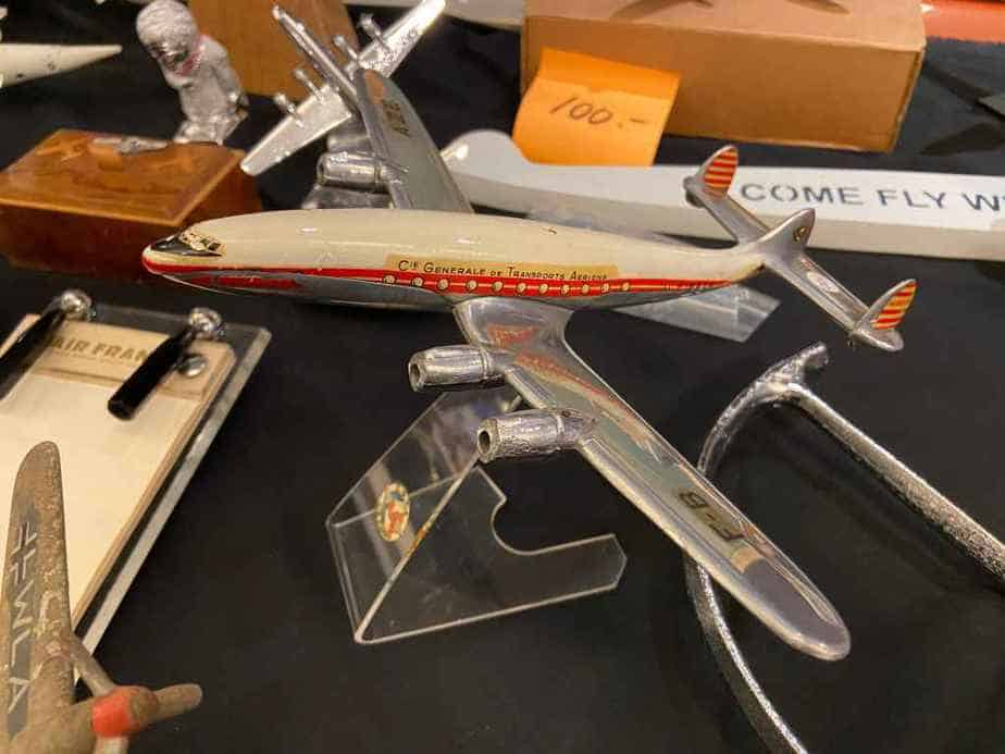 CIE Generale de Transport Lockheed 749 Connie metal model