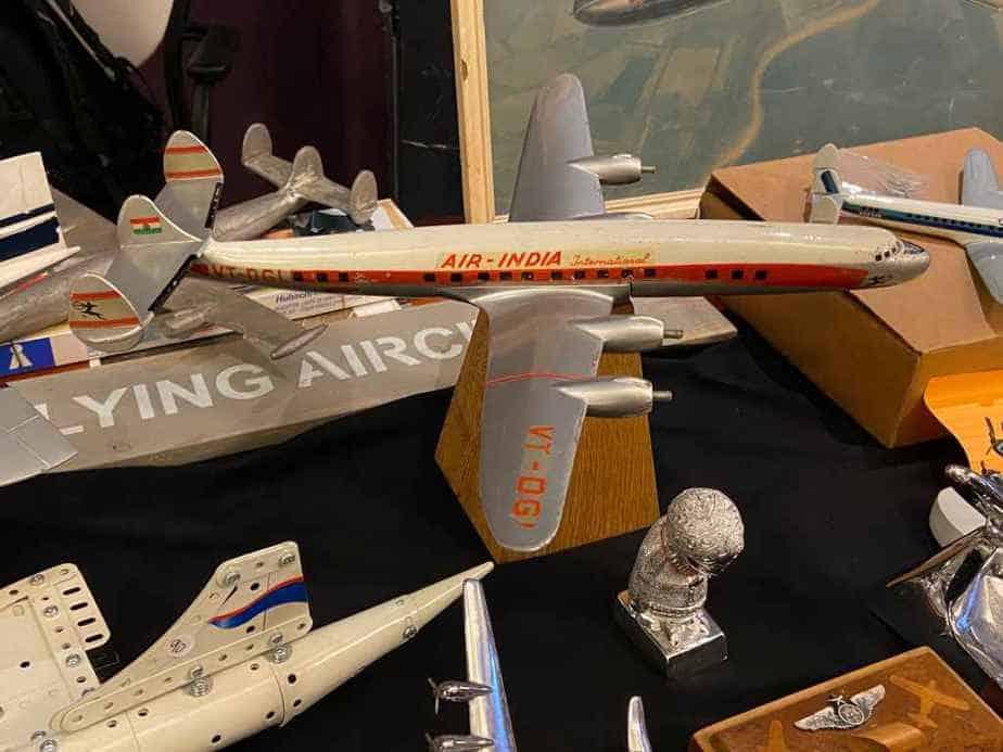 Raise Up 1/80 scale Air India Connie