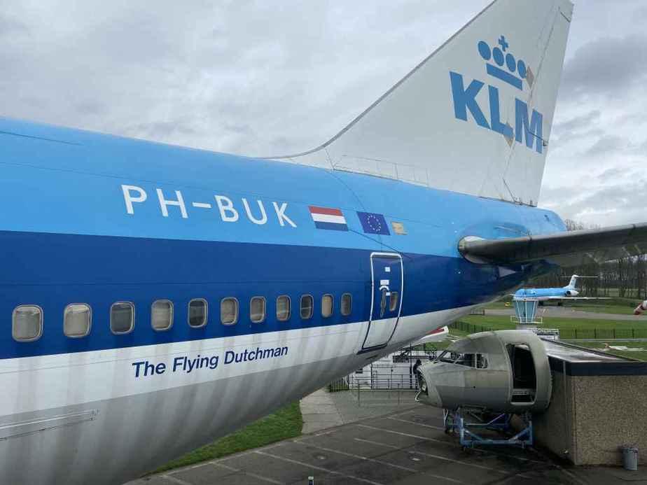 KLM 747-300 PH-BUK at Aviodrome, Netherlands.