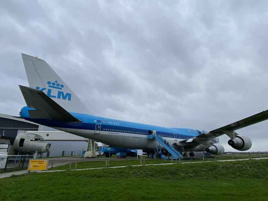 KLM Boeing 747-300 PH-BUK at Aviodrome, Netherlands.