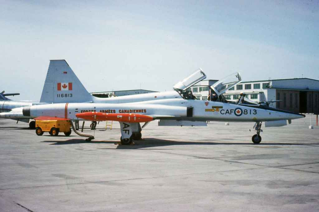 Canadian Armed Forces CF5 116813 June 1969 location not known.
